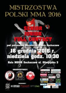 Mistrzostwa Polski -Ju Jitsu, MMA