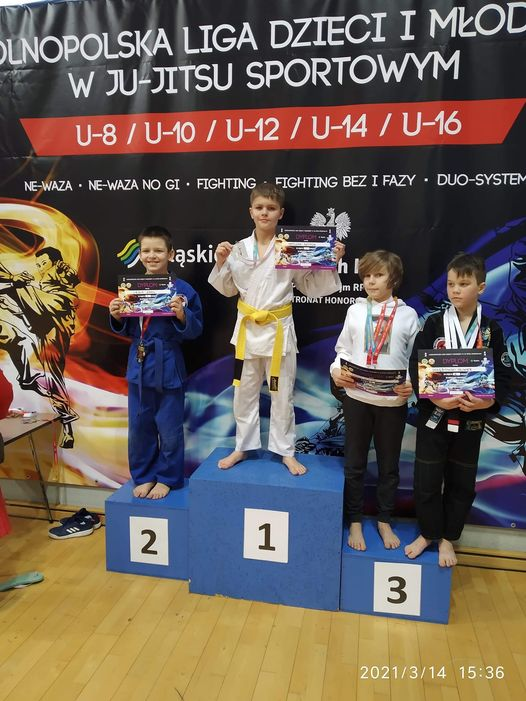Sukces na Ogólnopolskiej Lidze Ju jitsu