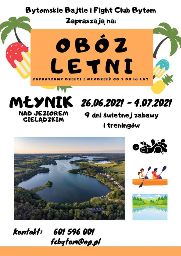 Obóz lato 2021